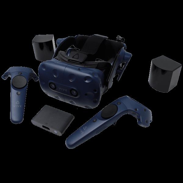 VR Expert HTC vive Pro full kit overview