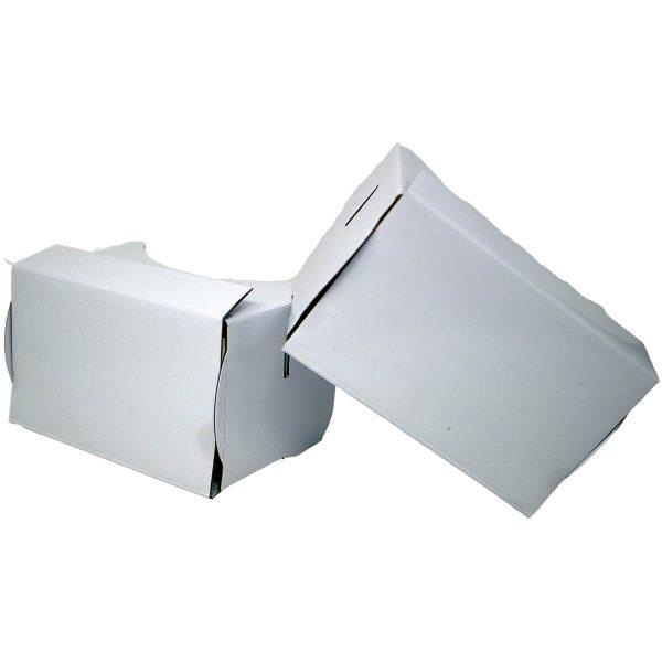 VR Expert cardboard owl white pair