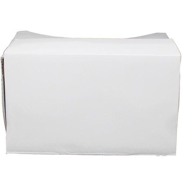 VR Expert cardboard owl white frontview