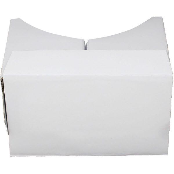 VR Expert cardboard owl white topview