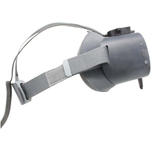 VR Expert alarm and charging set sideview