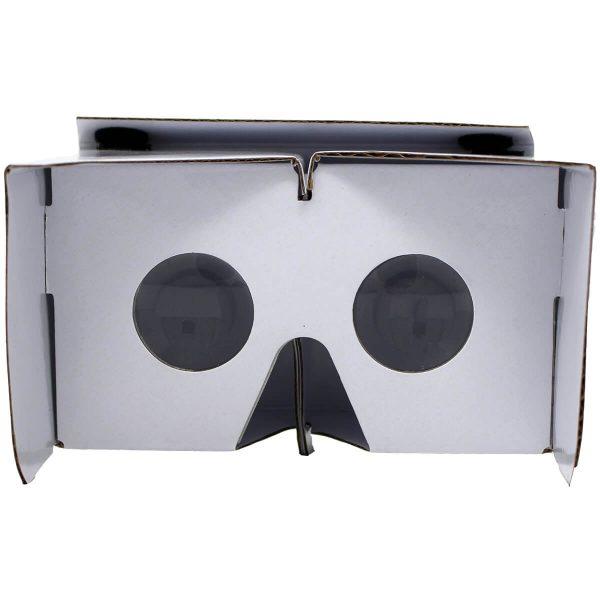 VR Expert cardboard owl white backview
