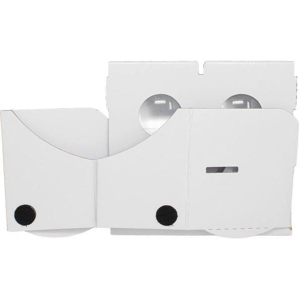 VR Expert cardboard owl white