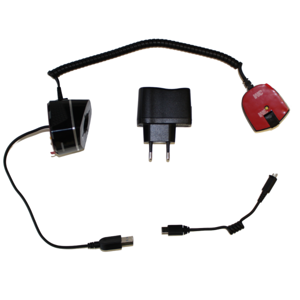 VR Expert alarm and charging set cables