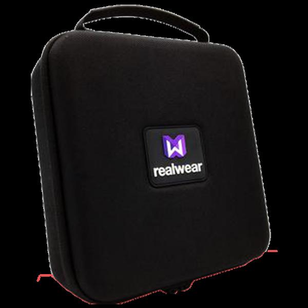 VR Expert Realwear semi rigid carrying case