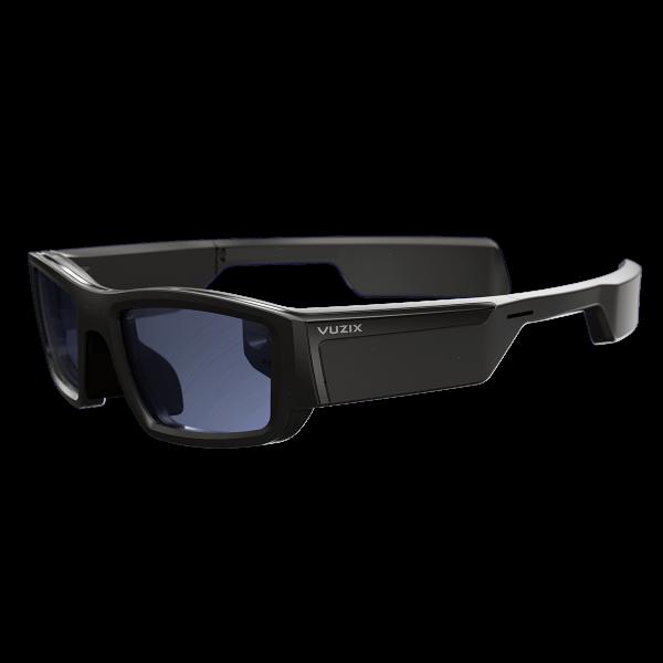 VR Expert Vuzix blade upgraded side view