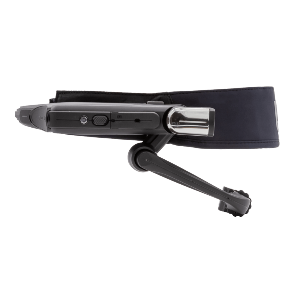 VR Expert Realwear HMT-1 with workband sideview