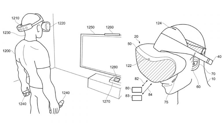 ps5vr patent