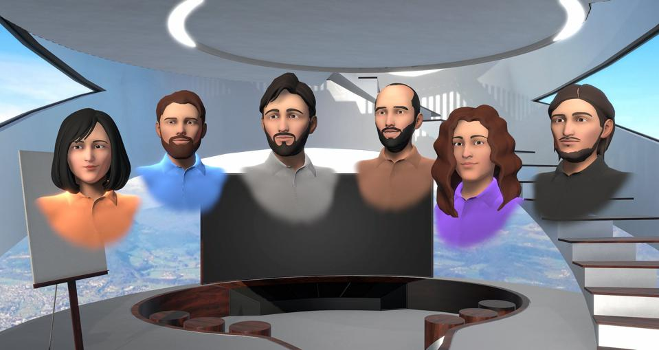 Engage VR characters