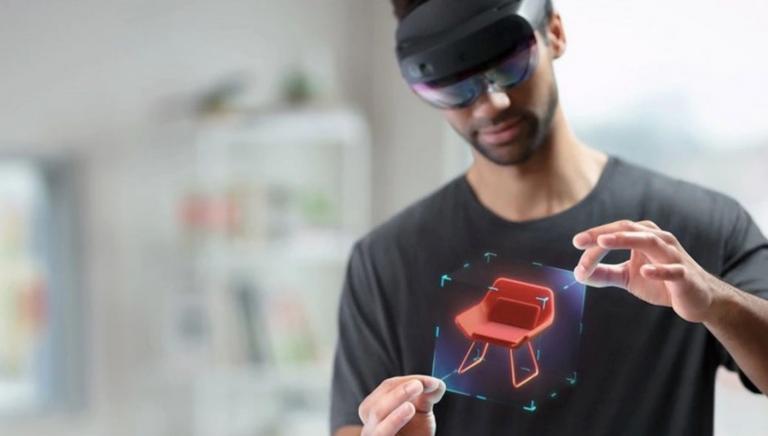 VR Expert Hololens View