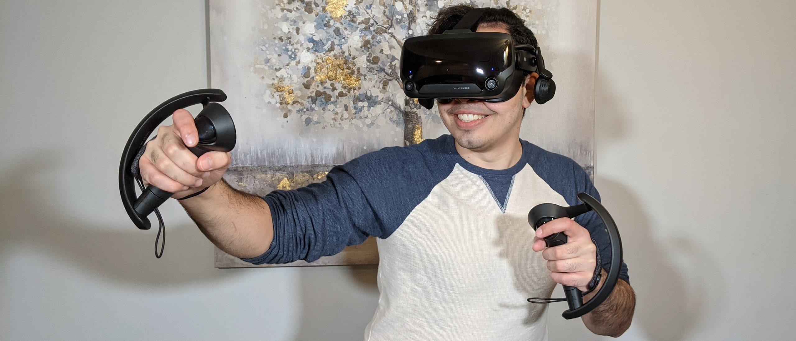 VR expert Valve index