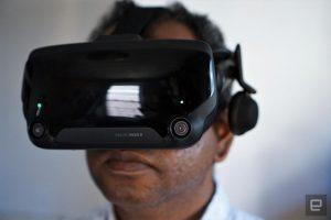 VR expert Vive Index user
