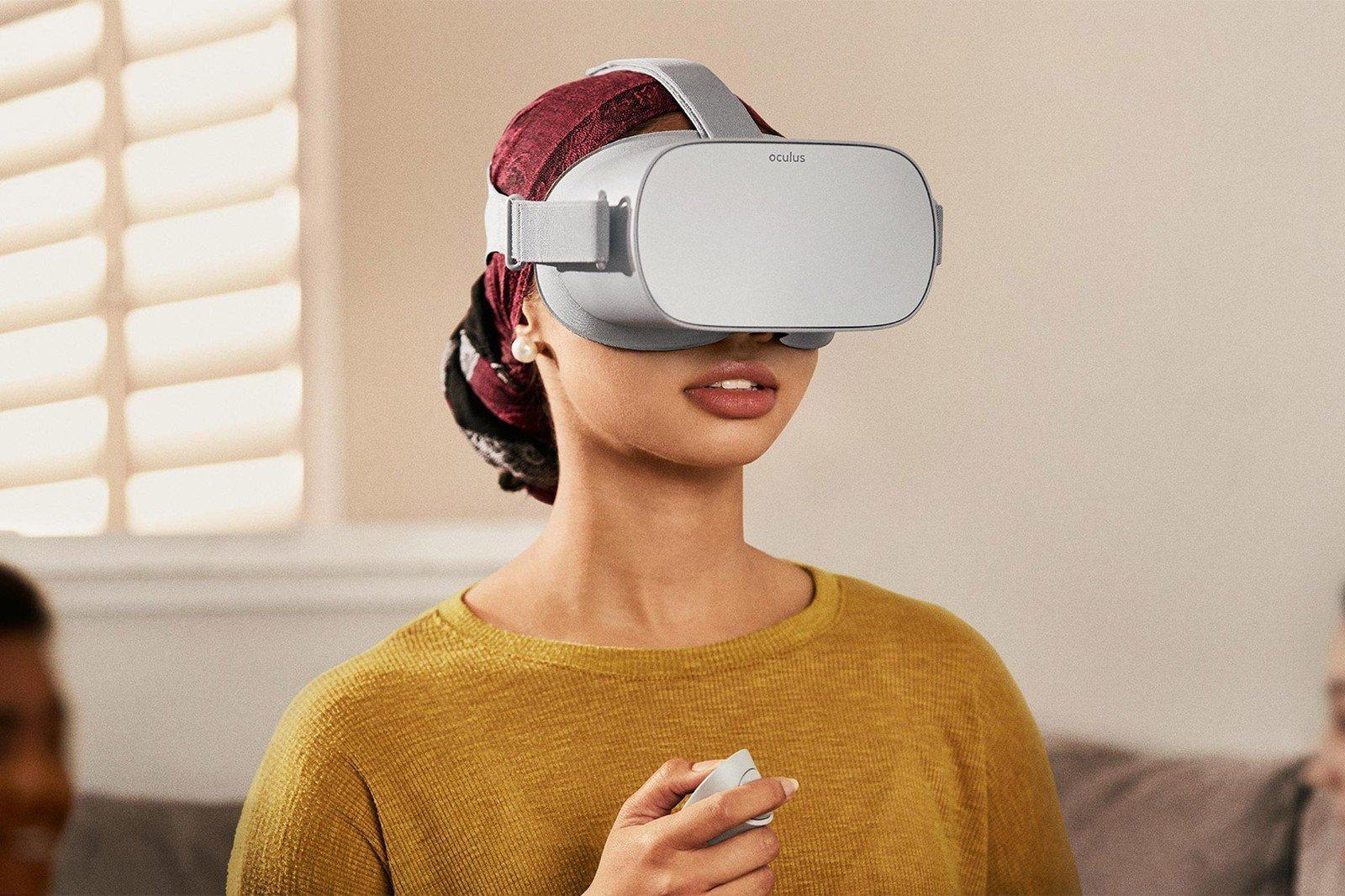 VR expert Oculus Go user